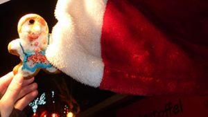 Heut hab ich den Weihnachtsmann gesehen, zumindest seine Mütze