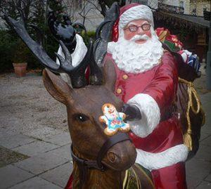 Ich darf am Rudolph reiten